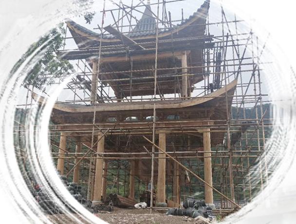 仿古建筑施工中如何做好对成品的保护