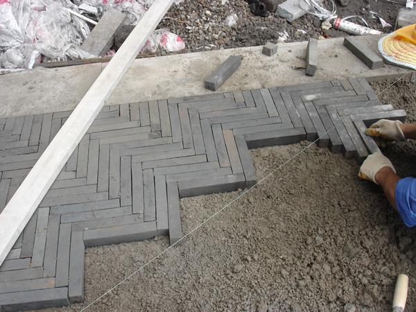 常见的五种仿古青砖铺地方法